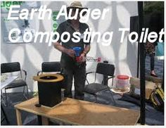 A manual composting toilet
