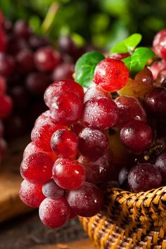 Organic Raw Red Grapes by Brent Hofacker on 500px