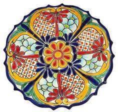 Colorful Talavera Platter