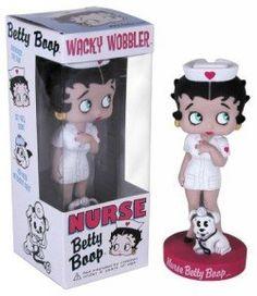 Funko Wacky Wobbler Betty Boop Nurse http://popvinyl.net #funko #funkopop #popvinyl