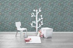 Thiry Paints - Behang Roomblush - roomblush, behang, behangpapier, belgisch, vliesbehang, retro, scandinavisch, kleurrijk, speels, kinderbehang, motieven, grafisch, modern, wallpaper