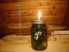 How to make your own mosquito repelling citronella candles – The Owner-Builder Network. Mosquito repellent for fire nights Mason Jar Candles, Mason Jar Crafts, Mason Jar Diy, Mason Jar Lamp, Bottle Crafts, Scented Candles, Citronella Candles, Oil Candles, Citronella Oil