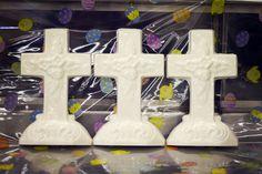 Three White Chocolate Crosses!