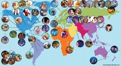 See The Entire World of Disney In One Impressive Fan-Made Map   moviepilot.com