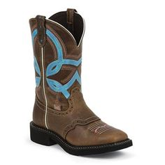 Justin Women's Gypsy Overlay Square Toe Western Boots @missmemerose