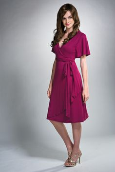 Can you tell this is a nursing dress?  I can't!