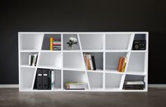 the funny thing is.. if you got wasted and put together an ikea bookshelf it might look a lot like this..