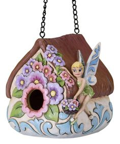 Look what I found on #zulily! Jim Shore Tinker Bell Bird House by Jim Shore #zulilyfinds