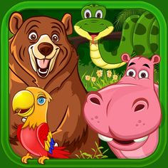 Find out how kids worldwide are being educated & entertained!  54 animals that talk, real animal sounds, critters, 3 educational/fun games, & much more Designed and tested on kids 0-6 years old.  Start a journey of discovery with your kids, no other kids app like it   Recent Review:   WOW - UPGRADE CITY!   by Samahoe I liked the original app but the latest is a complete overhaul. From the animations to the games, this app has improved 1000%! Each animal has its own personality and the…
