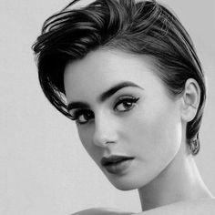 20 short spiky hairstyles for women emma stone lily collins Short Spiky Hairstyles, Short Hair Cuts, Cool Hairstyles, Short Hair Styles, Braid Hairstyles, Lily Collins Pelo Corto, Hair Inspo, Hair Inspiration, Lily Collins Short Hair