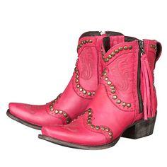 Double D Ranch ~ Lane Garcitas Half Pint Boots! ~ Hot Pink