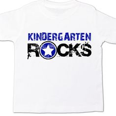 Back to school shirt first grade rocks personalized childrens Tshirt
