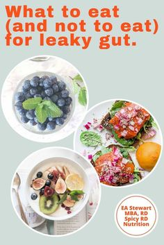 Does diet help heal leaky gut? Learn what foods to eat (and not eat) on a leaky gut diet for autoimmune disease, digestive wellness, and other health conditions. Foods That Help Digestion, Food For Digestion, Leaky Gut Diet, How To Heal Leaky Gut, Microbiome Diet, Leaky Gut Syndrome, Nutrition Tips, Holistic Nutrition, Foods To Eat