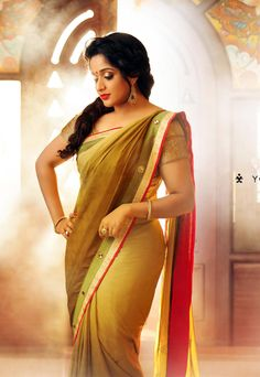 Mallu Actress Kavya Madhavan Hot N Cute Saree Latest Pics | Tollywood Chicks