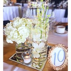 #weddingcentrepieces #weddingideas #submurged #centrepieces #orchids #hydrangea Centrepieces, Wedding Centerpieces, Hydrangea, Weddingideas, Orchids, Table Decorations, Flowers, Home Decor, Decoration Home