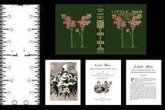 1-12-SCALE-MINIATURE-BOOK-LITTLE-MEN-ILLUSTRATED-LOUISA-M-ALCOTT-DOLLHOUSE
