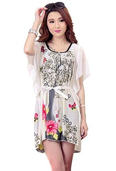 Women's Chiffon Dress Beach Cover Up 103-1