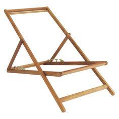 HABITAT - MAUI Oak deckchair frame