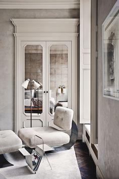 Парижская квартира   ProDesign - Дизайн интерьера, Красивые интерьеры квартир, домов, ресторанов, Фотографии интерьеров, Архитекторы, Фотографы