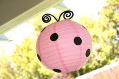 Little Lady Pink Ladybug Party | CatchMyParty.com