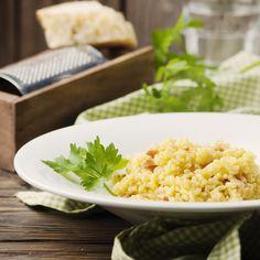 IP/Pressure Chicken & Pancetta Risotto