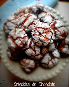 Crinkles de Chocolate - Dona bimby