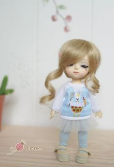 Outfit for Tiny doll (16 cm.) FoxyBrowny Lati Yellow Pelican Chefs [Girl]