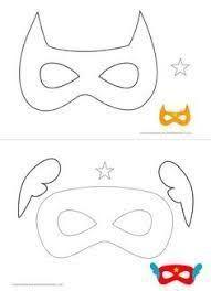 Resultado de imagem para molde mascaras eva vingadores