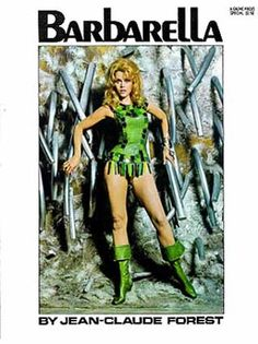 Picture of Barbarella (Movie Tie-In with Jane Fonda Cover) Barbarella Comic, Jane Fonda Barbarella, Beau Film, Comic Movies, Comic Books, Nostalgia, Paramount Pictures, Battlestar Galactica, Vintage Books