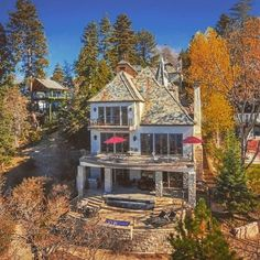 When you picture Sammy Hagar in his natural habitat, your mind likely races to Cabo, tequila, and toes in the sand. But it turns out Hagar, aka the Red Rocker, also owns an immaculate home in Lake Arrowhead, CA, which is now on the market for $5.9 million.  Built in 2006, the French chateau–style home is formal and refined. Boasting amazing lake views and measuring 6,557 square feet, it has eight bedrooms and 8.5 bathrooms.  Sammy Hagar Selling Lake Arrowhead Chateau for $5.9M  In addition…