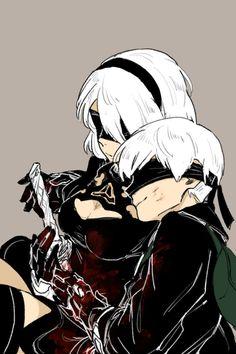 Embedded Nier Characters, Anime Warrior Girl, Drakengard Nier, Neir Automata, Anime Couples Manga, Art Sketches, Anime Art, Character Design, Memes