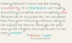 Elenaor and Park<3 one of my faves