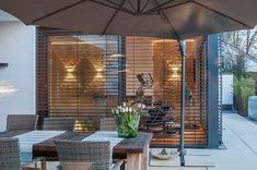Interieur - Engelshove Bauhaus, Bungalow, Blinds, Sauna, Curtains, Room, Wellness, Furniture, Website