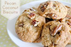 Pecan Coconut Biscuits