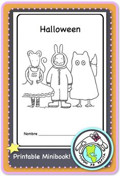 Practice Halloween vocabulary in context with this printable minibook! Each character dresses in a different costume- perfect for kiddos to learn to say what they are wearing for Halloween! Mundo de Pepita, Resources for Teaching Spanish to Children