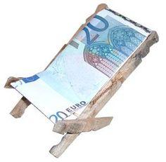 Liegestuhl Geldgeschenke selbst basteln