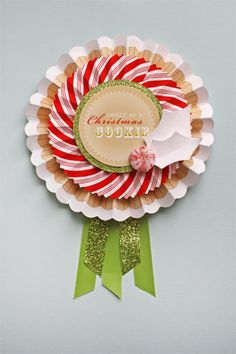"""These would be adorable for """"awarding"""" prize cookies or Gingerbread Houses. #holidayentertaining"""