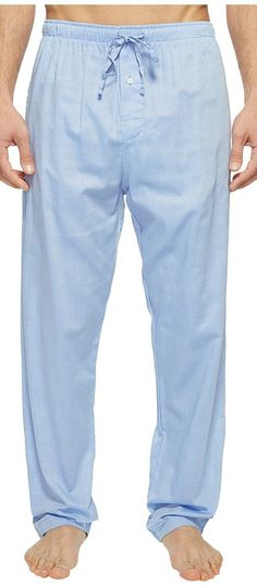 Polo Ralph Lauren Oxford PJ Pants (Blue Royal) Men\u0027s Underwear - Polo Ralph  Lauren