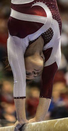 Alabama Gymnastics vs Oklahoma GO Alabama Alabama Vs, University Of Alabama, Alabama Crimson Tide, All About Gymnastics, Dangerous Sports, Ex Love, Yoga Fitness, Fitness Fun, World Of Sports