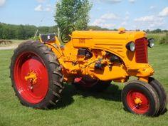 Antique Minneapolis Moline Tractors