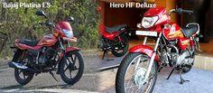 Bajaj Platina VS Hero HF Deluxe