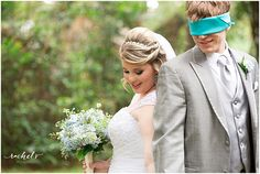 A sweet way to share a moment together before your wedding without seeing each other.  www.rachelvphotography.com