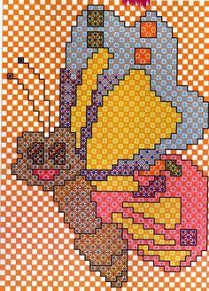 Bordado_em_tecido_xadrez - margareth mi3 - Álbumes web de Picasa