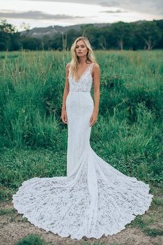We're in love with this lacy wedding dress | Made With Love Bridal