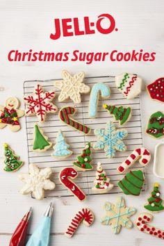 Christmas Sugar Cookies, Christmas Snacks, Christmas Cooking, Christmas Goodies, Holiday Cookies, Christmas Candy, Holiday Baking, Christmas Desserts, Holiday Treats