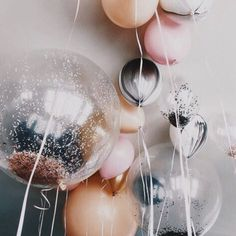 Wedding Essentials: #Decor Everyone needs some of these #balloons in their lives. Saved from theyallhateus.com #bride #bridal #wedding #alternativebride #coolbride #modernbride #silkdresses #lovelondon #fblogger #fashionblogger #abmlifeiscolorful