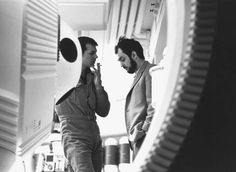 100 behind-the-scenes photos that span the entire production of Stanley Kubrick's '2001: A Space Odyssey.' Great job, Larry Wright!  I...