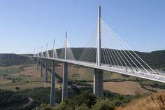 10Best: Beautiful Bridges: Slideshows Photo Gallery by 10Best.com - Millau Viaduct Bridge, Midi-Pyrenees, France