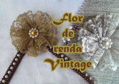 Flor de renda Vintage