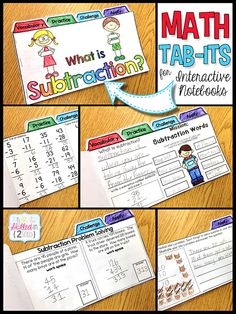 Math Tab-Its - Exit Books for the CCSS